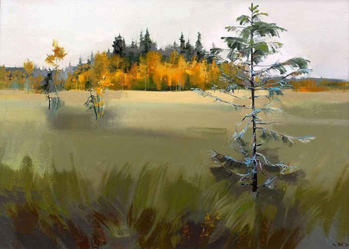 Творчество современного художника Юрия Ломкова