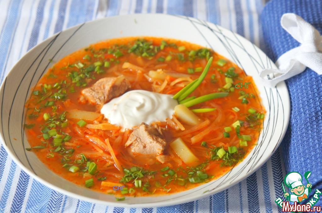 Щи по-уральски супы,щи