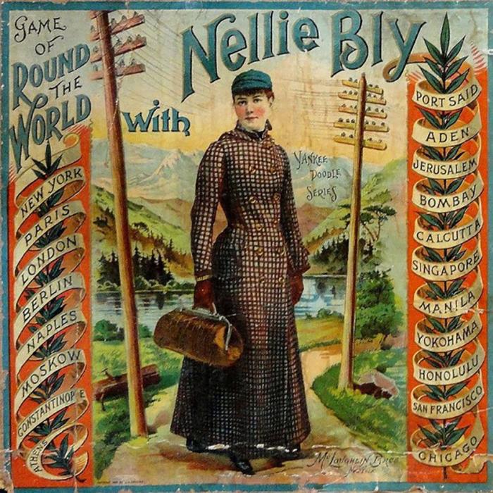 Вокруг света за 72 дня: Как женщина-путешественница смогла победить героя романа Жюль Верна путешествия