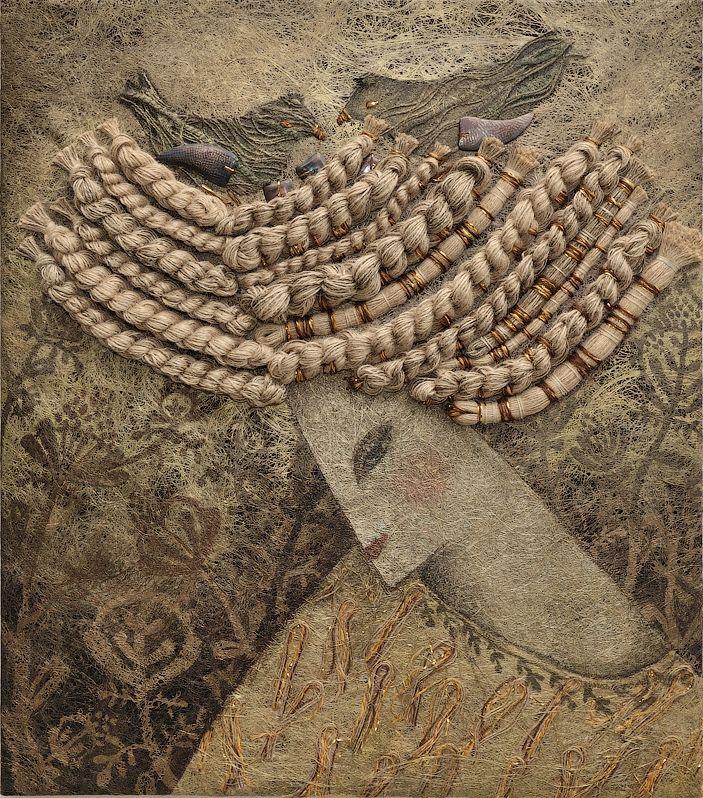Картины в технике ручного ткачества Ярославы Ткачук