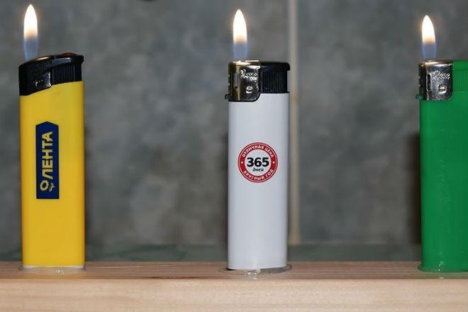 Проверяем сколько времени будет гореть зажигалка пока не перегреется. Видео