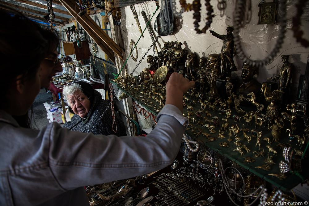 Место, где все есть: блошиный рынок по-грузински