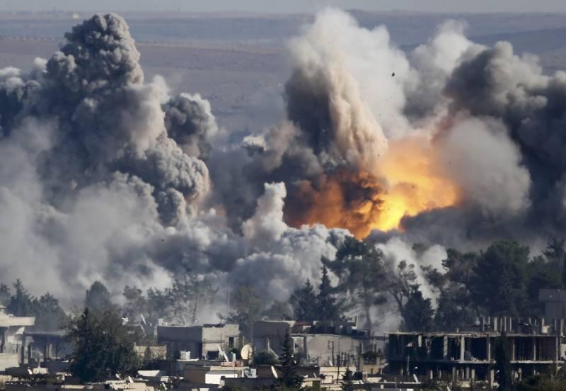 Бомбовый холокост Мосула и Ракки