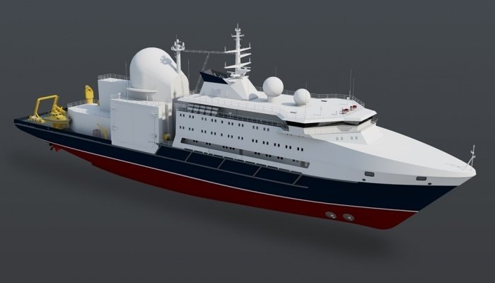Проект 22010: завершается стапельная сборка корпуса судна «Алмаз»