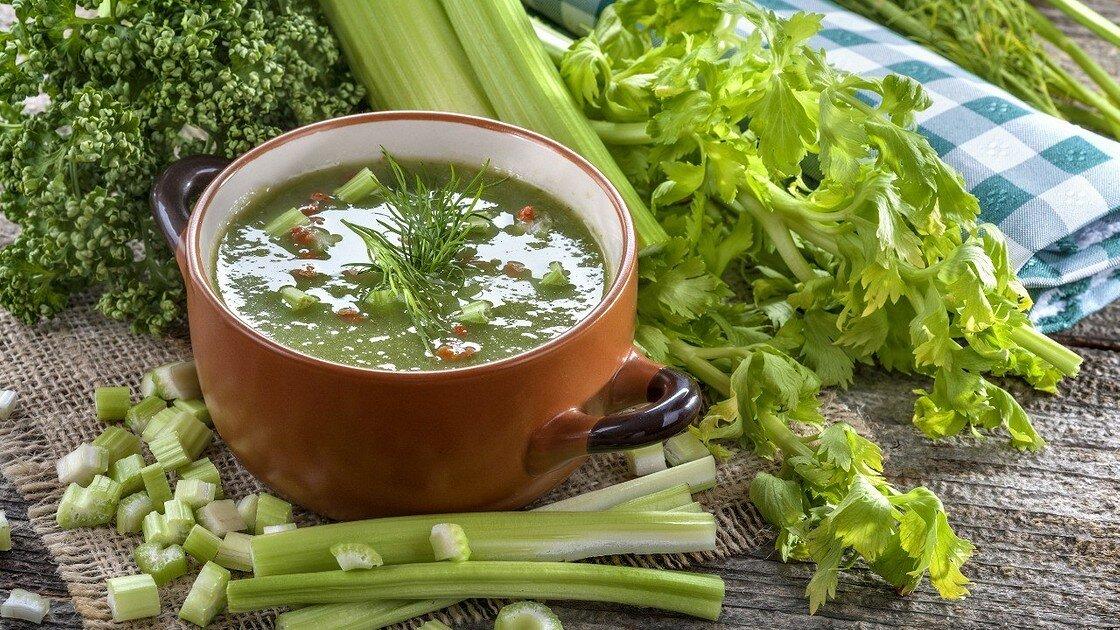 Суп для похудения с петрушкой