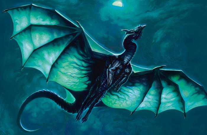 В России с неба падали драконы