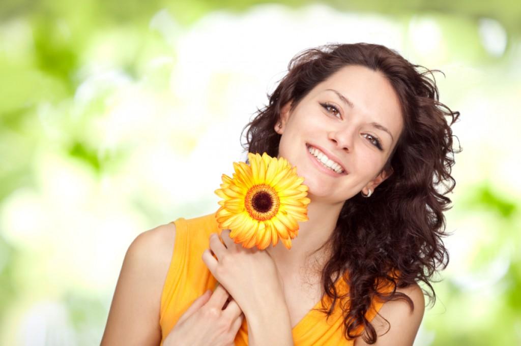 Позитивное настроение картинки цветы девушке, картинки