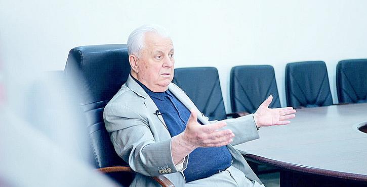 Кравчук о Донбассе: «Слушайте, там другая страна»