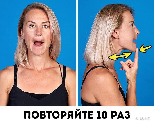 Как Похудеть Лицом Девушке. Как похудеть в лице: маски, массаж, упражнения для похудения в домашних условиях
