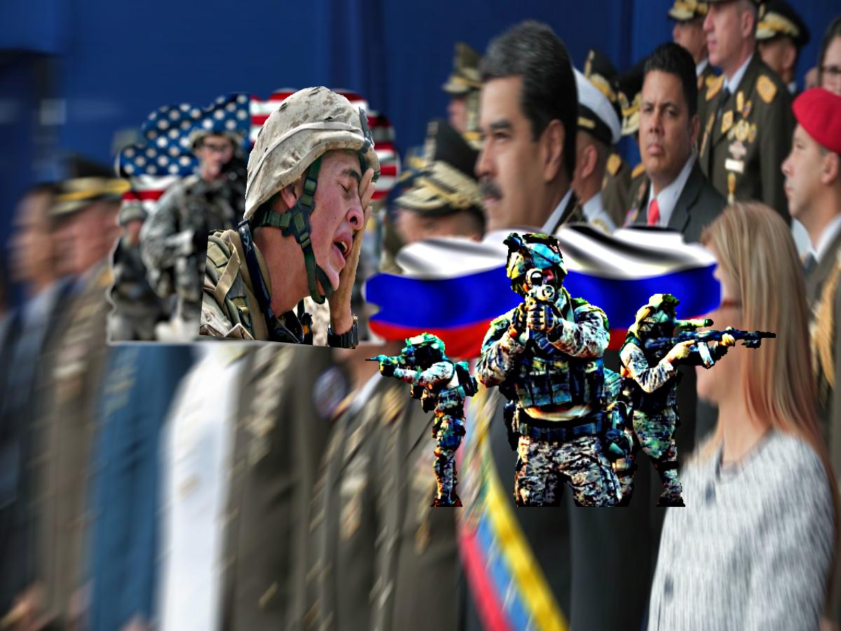 Спецназ ССО России провел облаву на наемников США, готовивших военный переворот в Венесуэле