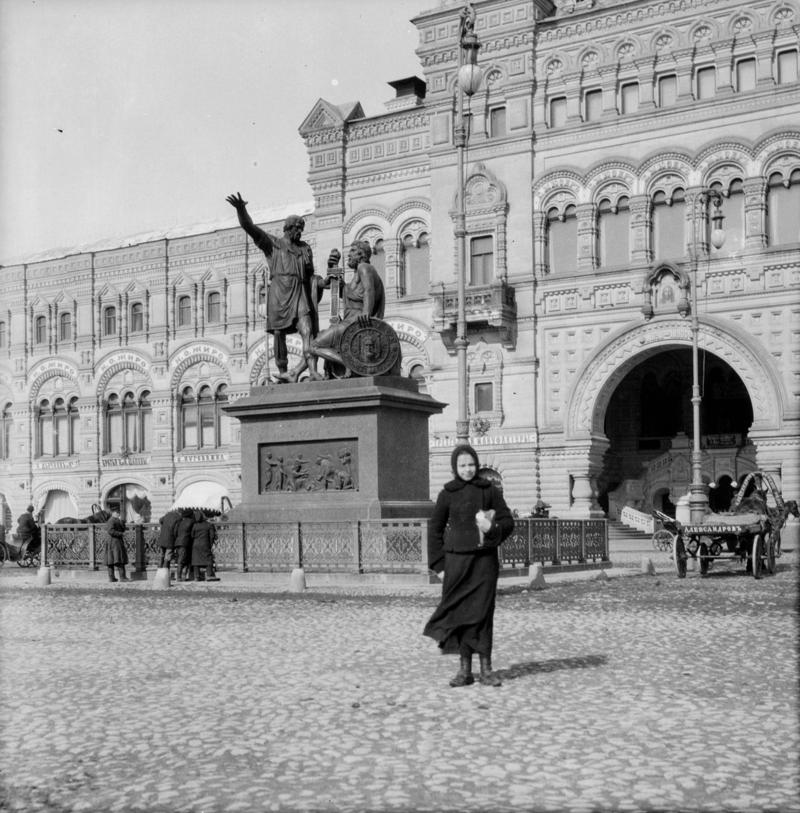 На Красной площади история, ретро, фото