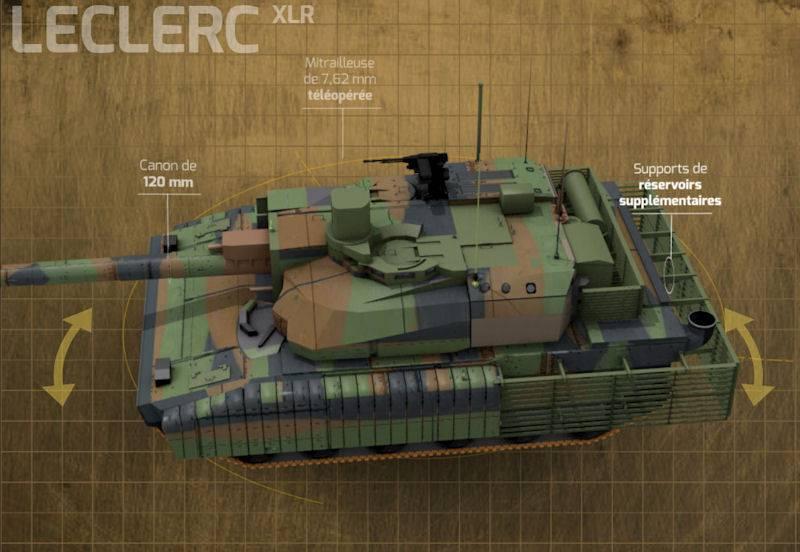 Leclerc XLR: конкурент «Армате» или попытка догнать «Леопард» оружие,танки