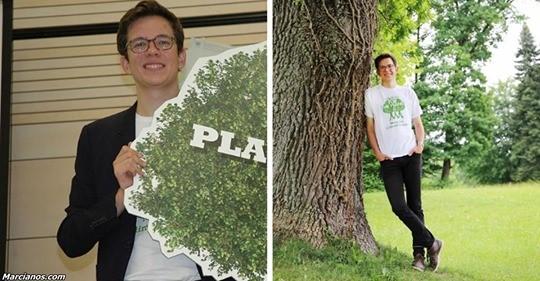 Парень посадил почти 1,000,000 деревьев. Теперь хочет поразить мир и посадить еще больше