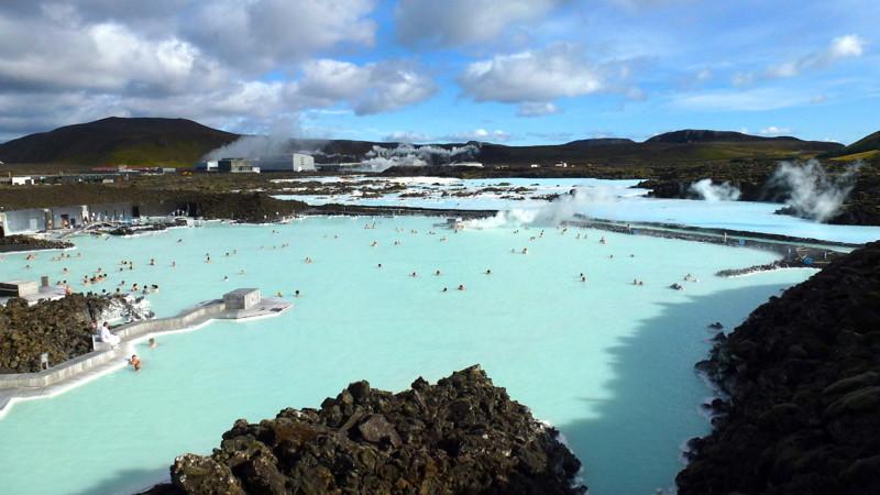 17. Голубая лагуна Исландии. красивые места, прекрасная планета, чудеса природы
