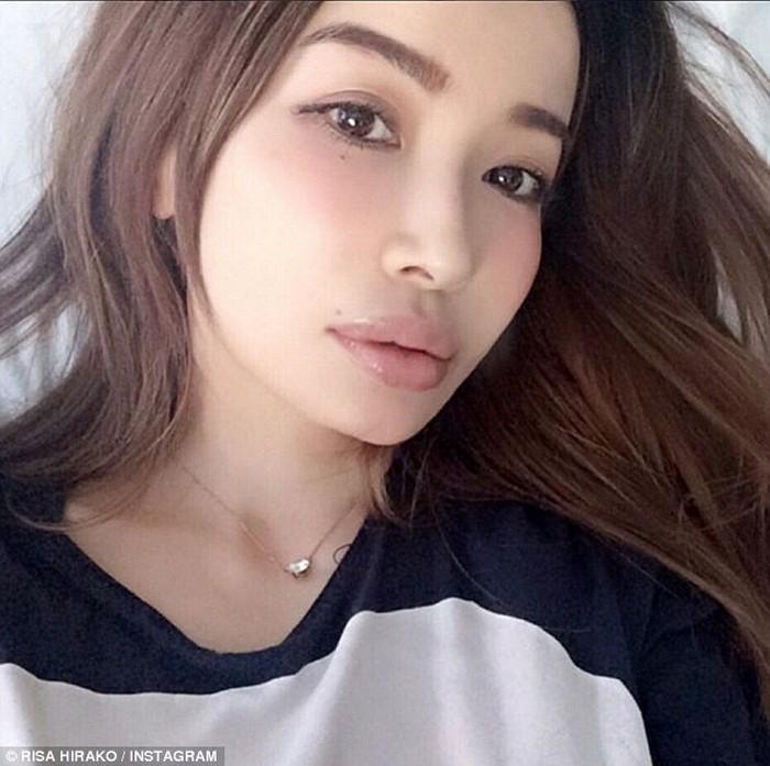 Японско-американская модель Risa Hirako