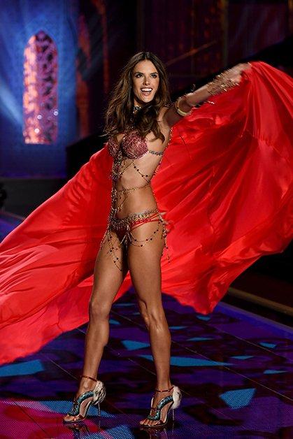 Алессандра Амбросио Victoria's Secret, девушки, мода, модель, фото
