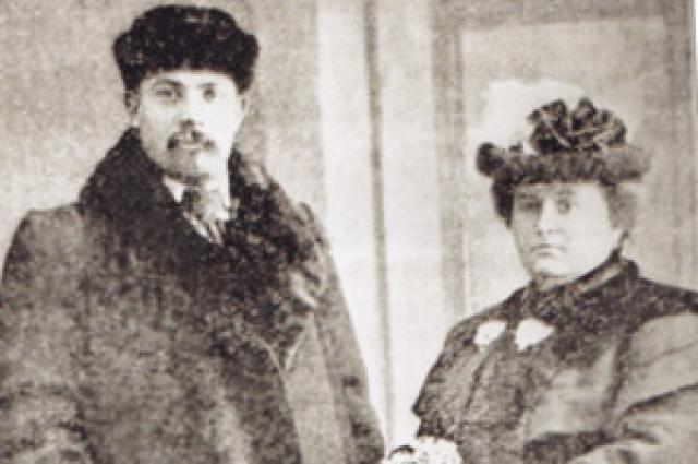 Федор Чайкин со своей сожительницей Прасковьей Кучеровой.