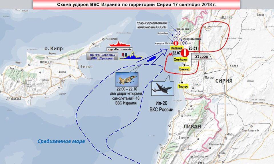 Минобороны России расценил действия Израиля как враждебные