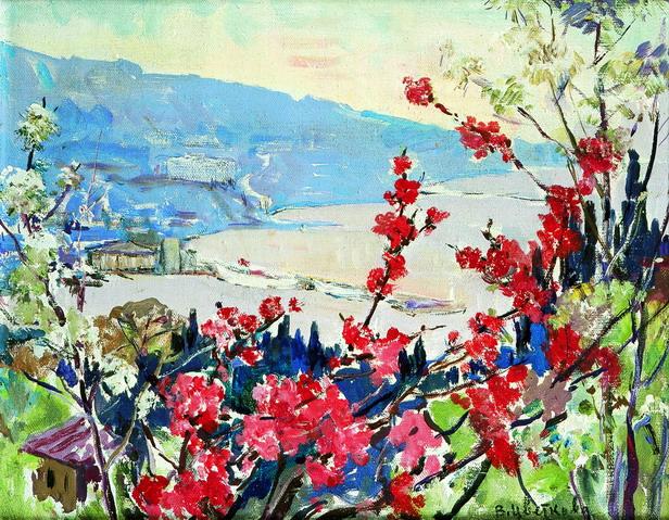 Цветы японской сливы (616x479, 429Kb)