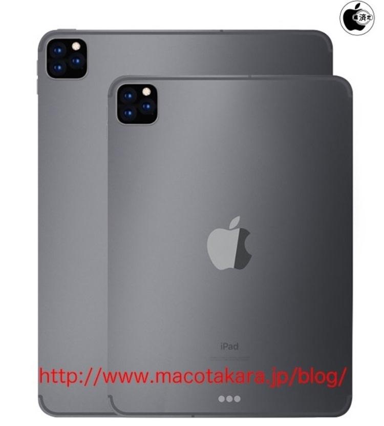 Следующий iPad Pro может получить тройную камеру новости,планшет,статья