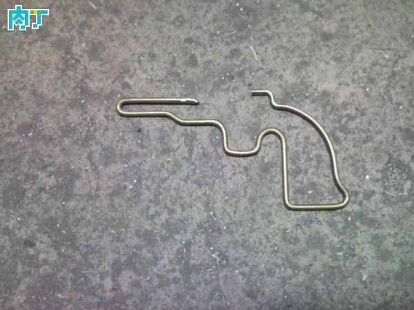 Как сделать пугач из велосипедных спиц 44