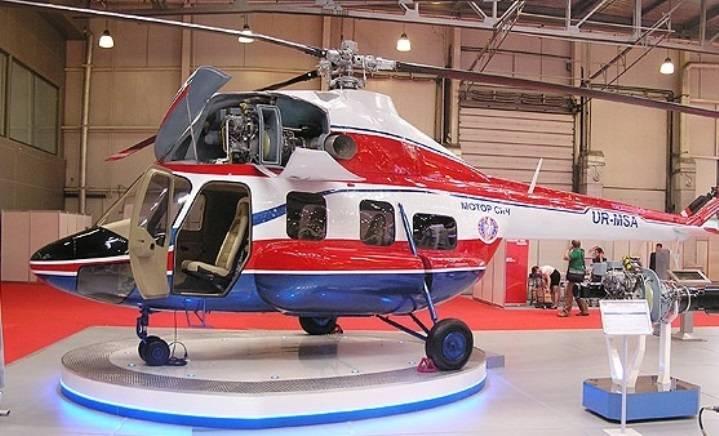 Надия, теперь и летающая. Украина испытывает первый вертолёт собственного производства