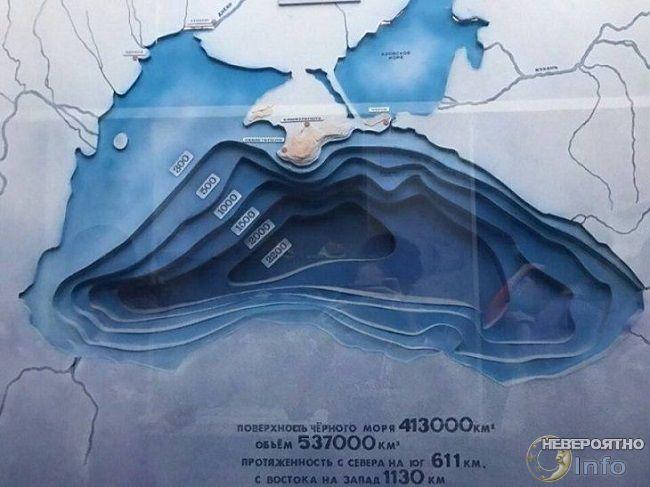 Черное море  все-таки могли выкопать экскаваторами Не может быть