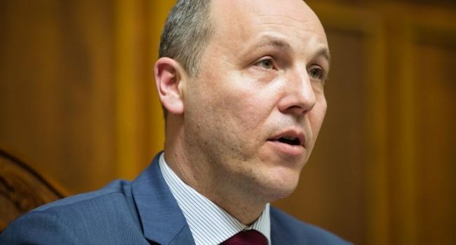 Парубий: Выборы в России выи…