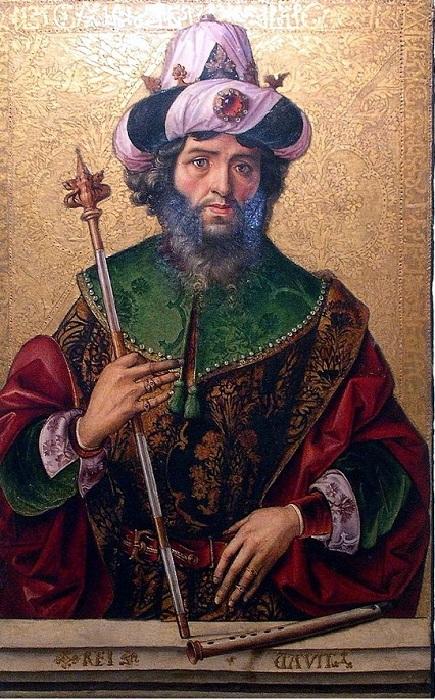 Давид, XV в. Автор: Педро Берругете.