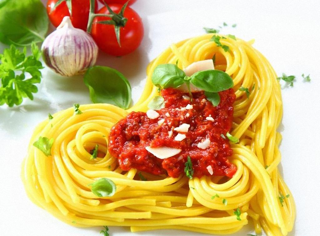 Италия открытка спагетти, для