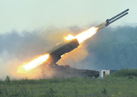 В России создается новая тяжелая огнеметная система