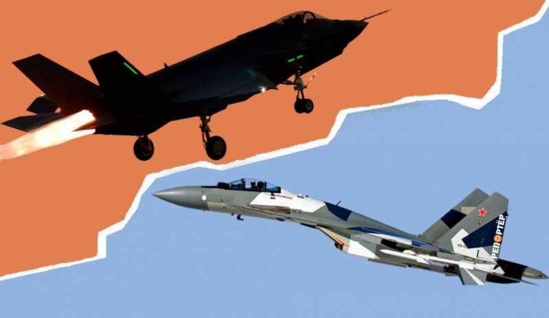 Когда американские F-35 сойдутся в реальном бою с российскими истребителями