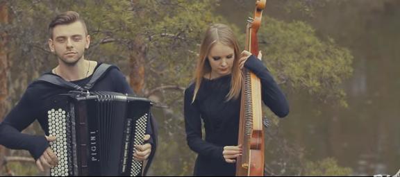 Антонио Вивальди - Времена года - Лето - Гроза -  группа B&B Project (бандура и баян). Оригинальное исполнение