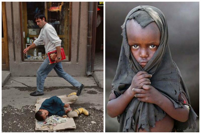гигантский грустные картинки про бедность и нищету конце декабря ксении