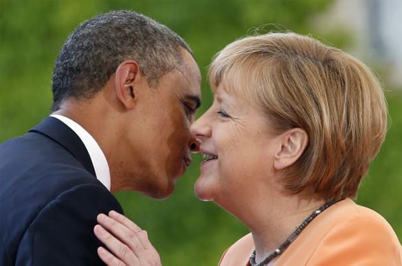 Несчастная Германия всё никак от оккупации не избавится...