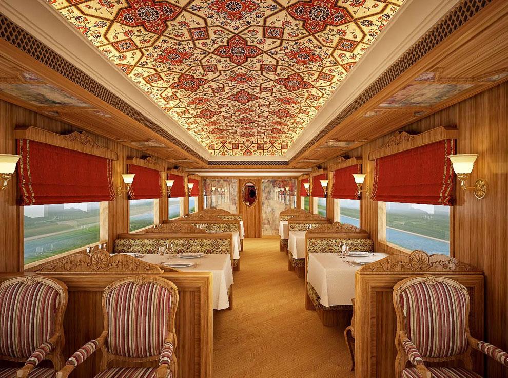 Экскурсия по одному из самых роскошных в мире поезду