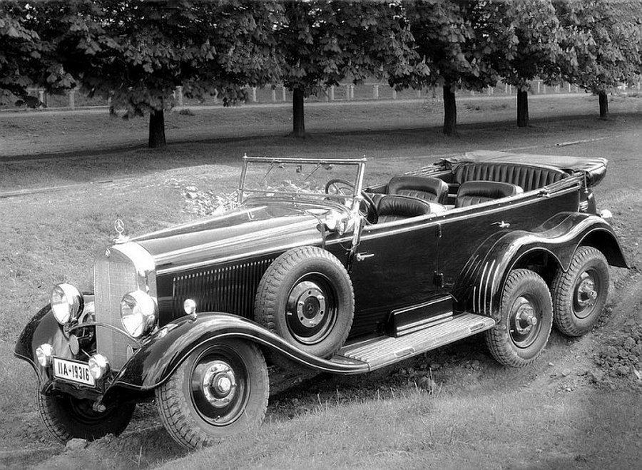Ретро автомобили 1934 года