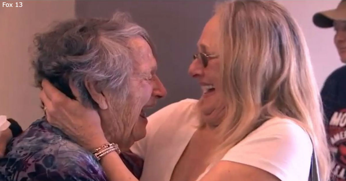 89-летняя мать встретилась с дочерью, которая, как она считала, умерла 69 лет назад