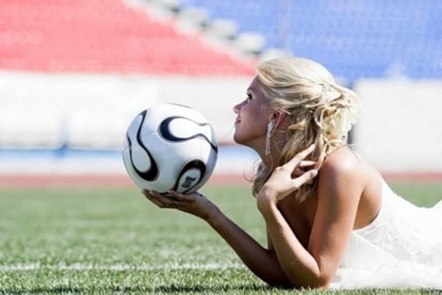Просмотр футбола с женой