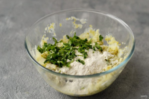 Котлеты из картофеля и гороха