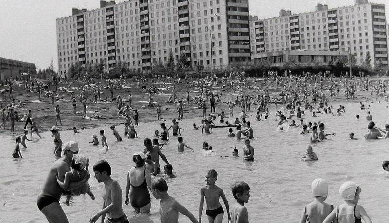 Москва Юго-Западная в 1970-х годах