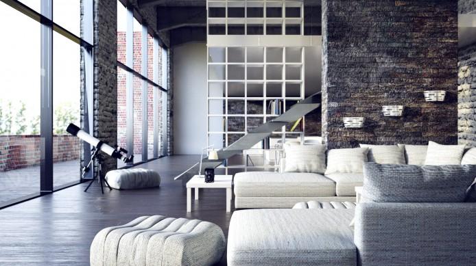 Как оформить квартиру в стиле «лофт»