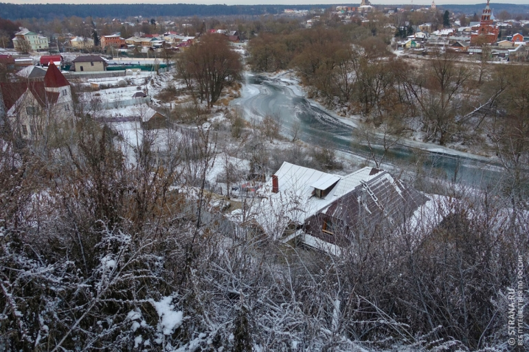 Живописная старина  города Боровска. Россия