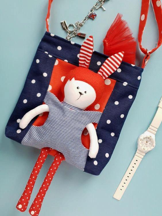 Идеи симпатичных детских handmade сумок и рюкзачков вдохновляемся,творим с детьми