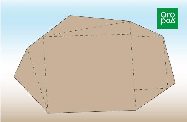 участок сложной формы