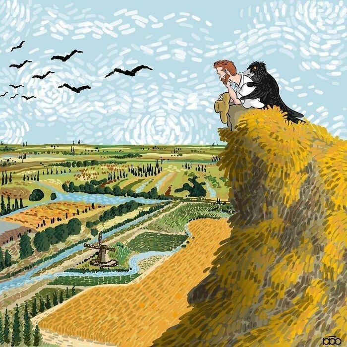 Жизнь Ван Гога глазами иранского художника