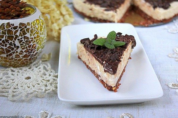 Простой кофейный торт