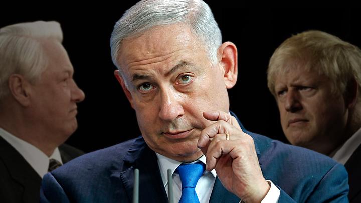 Нетаньяху неожиданно встретился в Лондоне с Борисом Ельциным