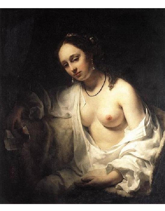 Вирсавия. (1654 г.). Автор: В.Дрост.