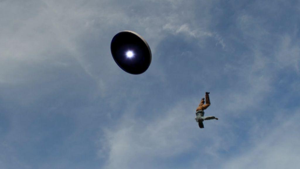 Поведение при встрече с НЛО